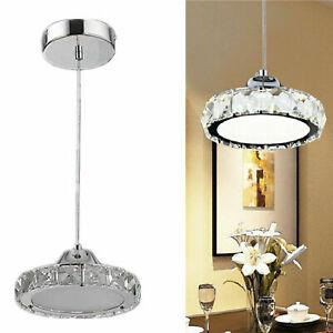 Modern Crystal 12W LED Pendant Lamp Chandelier Restaurant lights Restaurant Lamp