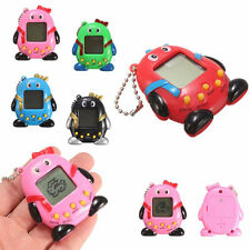Retro Game Penguin Cyber Kids Pet Toys 49 in one Virtual Pet Game Key Chain Ring