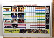 1977 Aurora AFX HO Slot Car Art Work Mans Room TV PROMOTIONS Framed Advertising