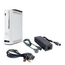 Xbox 360 Console Xenon 16,5a A sans HDMI Fat #1B +3-CINCH Câble + Du Chargeur