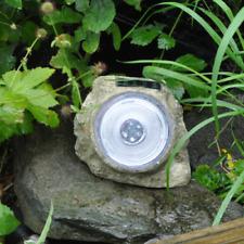 Energia Solare 3 LED Luce Rock Spot Luce esterno da giardino verande Decorazione Giardino