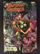 Marvel Captain America: Steve Rogers, Vol. 1 # 16 (1st Print) Connect Variant