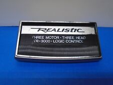 Realistic TR-3000 Reel To Reel Head Cover Used