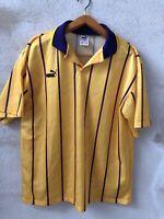 Maglia Shirt Calcio Football England Puma Vintage Usa Tg Xl
