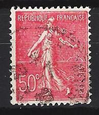 France 1924 type Semeuse lignée Yvert n° 199 oblitéré 1er choix (1)