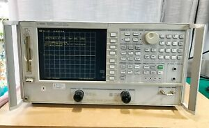 Agilent VNA 8753ES 30KHz - 3GHz Vector Network Analyzer LCD - 30 days warranty
