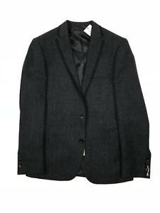 Remus Uomo - Charcoal Trim Blazer - Size 38R - *NEW WITH TAGS* RRP £185