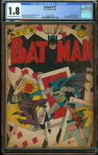 Batman #11 CGC 1.8 C/OW Pgs Second Joker classic cover HUGE GA KEY Looks better