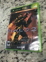 Halo 2 (Microsoft Xbox, 2004) Original No Manual, Case,  Tested Works