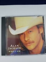Who I Am by Alan Jackson (CD, Jun-1994, Arista) DR3
