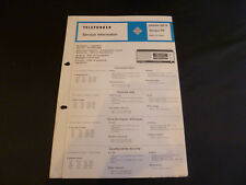 Original Service Manual Telefunken Jubilate 301A Dacapo 101