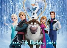 Personalized, Princess Elsa, Anna, Frozen, Birthday Card for Girls, Free p&p