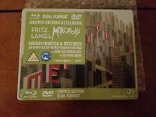 METROPOLIS STEELBOOK [RARE/OOP/NEW/Blu-ray+DVD] UK Import