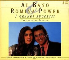 "AL BANO & ROMINA POWER ""I GRANDI SUCCESSI..."" 3 CD BOX"