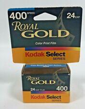 New In Box Kodak Royal Gold Select Series 400 General Use 24 Exp 35mm Film 03/01