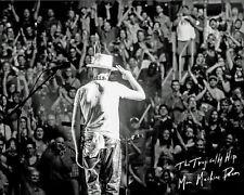 Gord Downie - Final Farewell to Canada - Man Machine Poem Tour, 8x10 B&W Photo