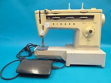 Vintage Used Old White Broken Singer Stylist 534 Sewing Machine Parts
