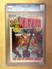 Astonishing Tales #15    CGC 9.4    Off White Pages   Ka-Zar