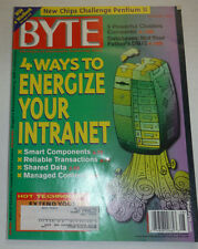 Byte Magazine 4 Ways To Energize Your Intranet August 1997 111314R