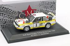 Audi Sport Quattro #3 2nd Rallye Monte Carlo 1985 röhrl, esprit villages 1:43 CMR