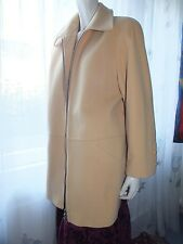 Bellandi (Italy) Woll & Cashmere Mantel Lange Jacke beige Gr. 42