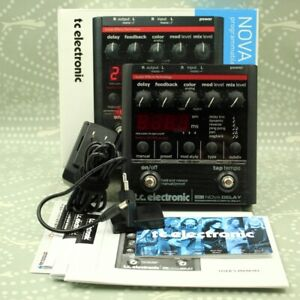 TC Electronic ND-1 Nova Delay With original box Adapter effect pedal (9099080)