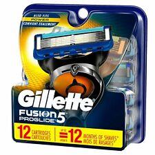 Gillette Fusion5 ProGlide Men's Razor Blade Refills - 12 Count