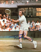 Roscoe Tanner Autographed Tennis 8x10 Photo