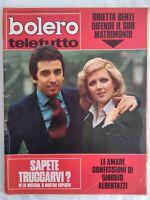 Bolero 1399 Berti Morandi Leroy Colli Mia Martini Franco Ciccio Ninchi Tognazzi