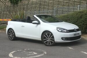 """VW Golf Convertible 1.4 TSi 160 GT, Candy white, 18"""" Charleston Alloys, Due in"""