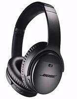 Bose QuietComfort QC35 II WIRELESS Headphones Bluetooth-Black Noise Cancelling 2