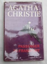 AGATHA CHRISTIE - PASSENGER TO FRANKFURT - 1st US EDITION 1970-DODD,MEAD&COMPANY
