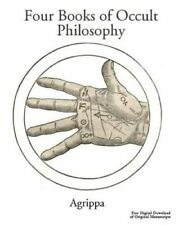 Agrippa's Four Books Of Occult Philosophy 9780692232620 ( Libro in
