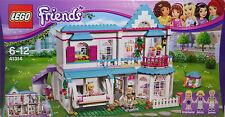 Lego 41314 Stephanies Haus Villa Alicia James Schaukel Häschen Küche Bad  NEU