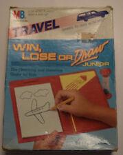 Win, Lose or Draw Junior Travel Milton Bradley Complete