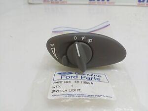 Genuine Ford Falcon AU Grey Headlight switch & knob assy free post ER11654A