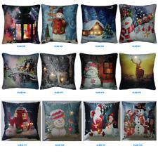 Romantic & Cosy - LED Light-Up Christmas Cushions & Pillow (Luxury-Velvet)