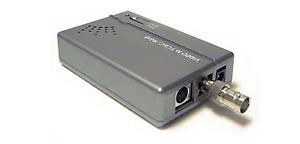 Premium Composite BNC RCA S-Video to Component Video RGB Converter