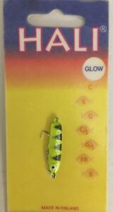 NEW! Nils Master HAL25-AYF Hali25 Lure, 1-1/4-Inch, Glow Chartreuse Tiger