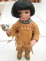 Artaffects Perillo Danbury Mint Little Friend Doll Danbury Native American Girl