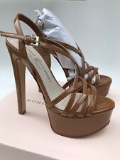 Chinese Laundry Teaser 2 Platform Heel Sandal (Size 5.5) Toffee Brown
