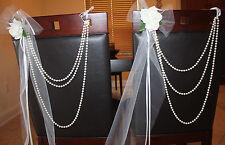 Wedding Decor - Chair Hangers for Wedding- Two pcs .