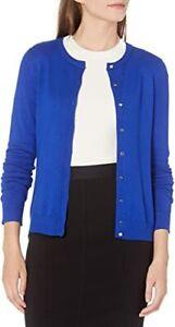 NWT CK Calvin Klein Women's Solid Button-Front Cardigan White S M L XL