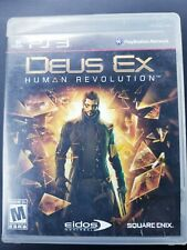 Deus Ex: Human Revolution - Playstation 3 PS3 Game - Complete & Tested