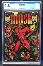 Mask Comics #2 - 1.8 CGC - Grail L.B. Cole. NO RESERVE