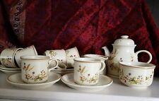 Vintage Marks and Spencer 'Harvest' Tea Service.