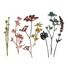 Sizzix Thinlits Cutting Dies By Tim Holtz - Wildflowers #1 661190