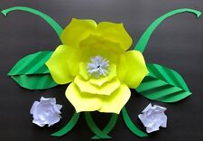 Paper Flower Template #3 (Small) (T3)- Diy