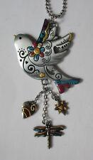 r Bird flying color CAR MIRROR CHARM REAR VIEW ornament ganz er56649