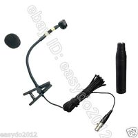 CARDIOID Instrument condenser recording Microphone For Saxophone Trombone XLR